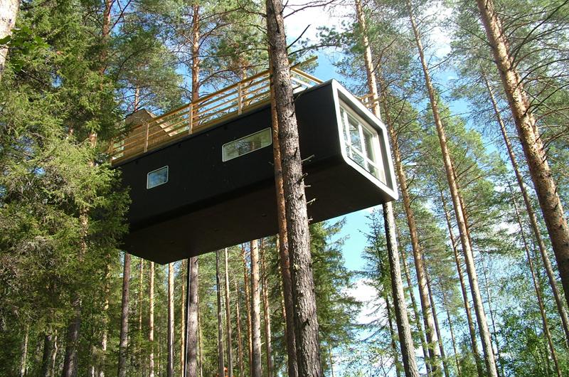 Treehotel Schweden In Harads Das Baumhaushotel