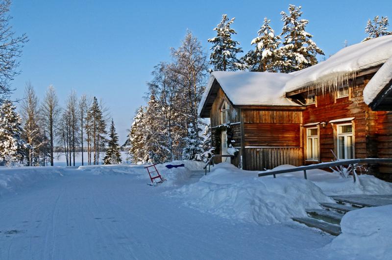 finnland urlaub im holzhaus hotel saija in lappland. Black Bedroom Furniture Sets. Home Design Ideas